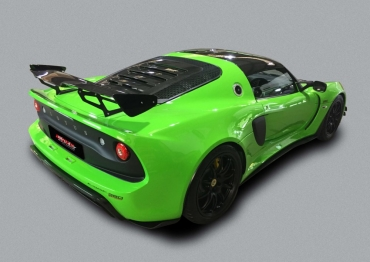 Exige 380 Exhaust System Comparison